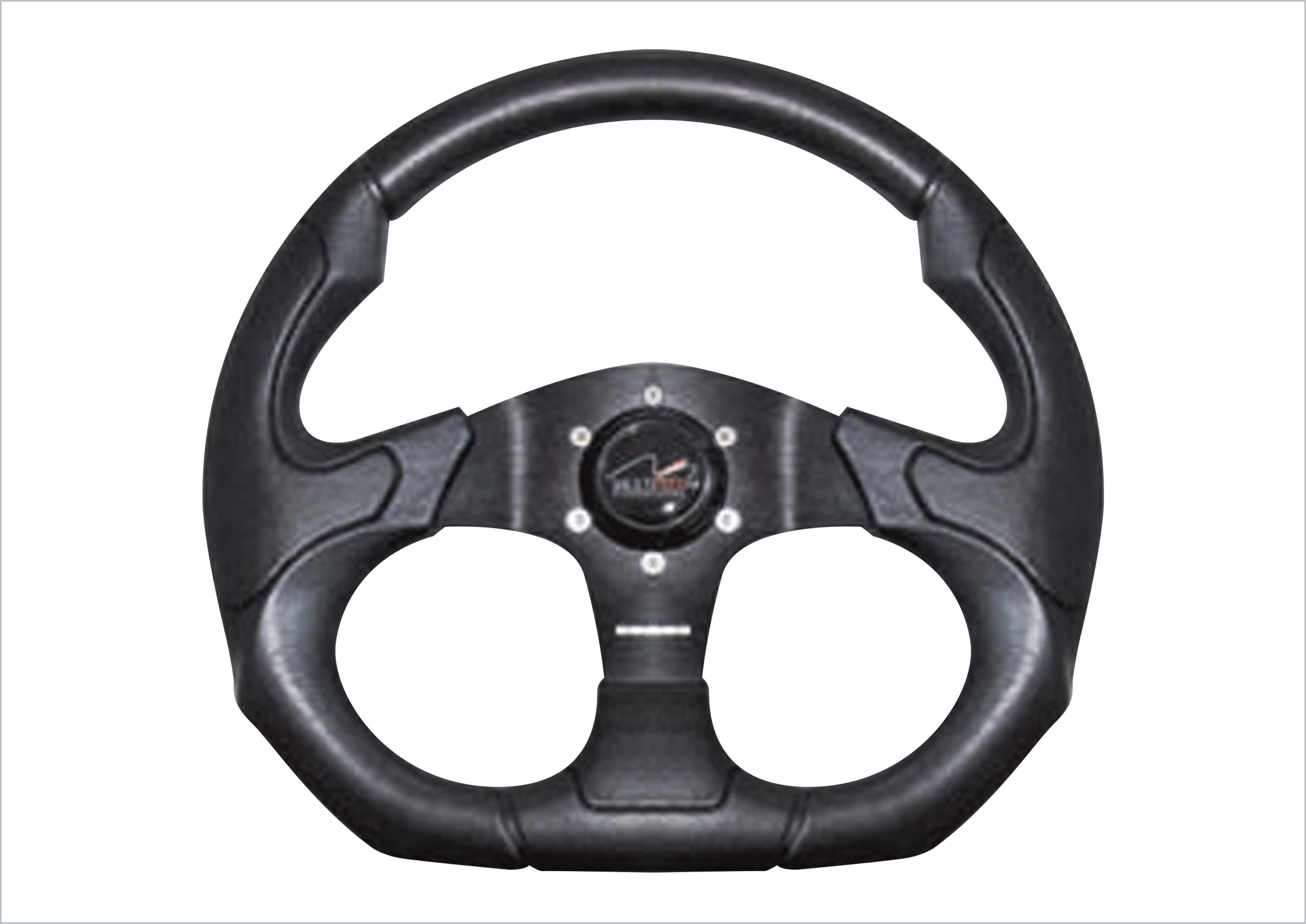 Boat Steering Wheel 350mm Mechanical /& Hydraulic Helm Standard 3//4 Taper